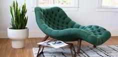 Brasilia Chaise - Upholstery - Seating - Modernica