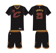 2f46ac6771ea Cleveland Cavaliers Alternate Uniform 2016- Present Baseball Birthday  Party