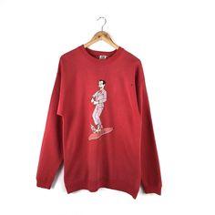 51557fc3de6 Vintage Vision Street Wear Sweatshirt Skate Skateboarding Thrasher Powell  Sma