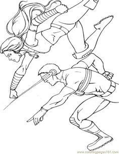 free printable coloring image X Men 22