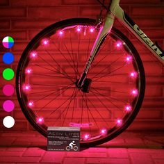 Super Cool Bike Wheel Lights Tire, Pink) Top Christmas Presents & Birthday Gi. Super Cool Bike Wheel Lights Tire, Pink) Top Christmas Presents & Birthday Gifts for Girls 3 Year Old + Teens & Women. Birthday Presents For Girlfriend, Good Birthday Presents, Sister Birthday, Birthday Woman, Birthday Gifts For Girls, Birthday Parties, Birthday Bash, Birthday Cakes, Girlfriend Gift