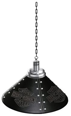 Nice Harley Davidson Pendant Lamp HDL 11706 This Pendant Lamp Features  Leatherette Covered Shade Embossed With