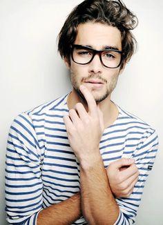 25 Stylish Hot Guys In Stripes -- Nicolas Simoes