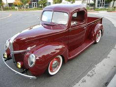 '41 Ford . . . Would rather have a 32 Chevy but this is pretty too