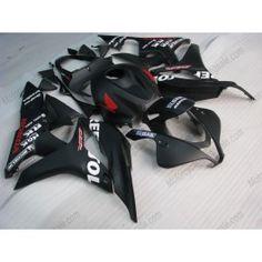 Honda CBR 600RR F5 2007-2008 Injection ABS Fairing - Repsol  - Black | $639.00