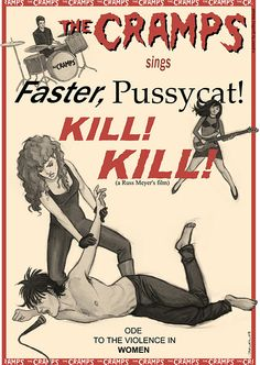 If you want wild live and fast. Another illustration by Geoffrey Beloeil. The Cramps are one of his favourite bands. Concert Posters, Movie Posters, Pop Posters, Event Posters, Music Flyer, The Cramps, Gothabilly, Gothic Rock, Posters
