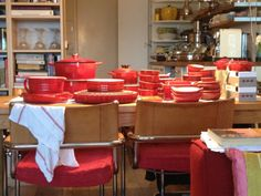 Le Creuset here, Le Creuset there, Le Creuset everywhere!