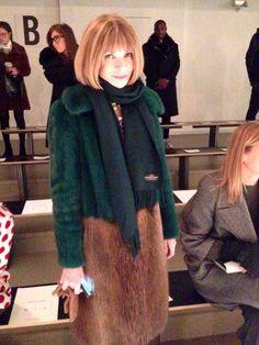 Anna Wintour #NYFW #fashion #style #AW14  #vip #vogue