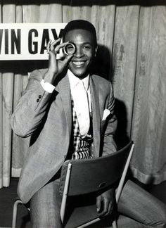 """""""Music, not sex, got me aroused.""""—Marvin Gaye"""