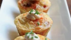Potato and Chorizo Mini Quiches. Great for an appetizer or bring it to a get together!