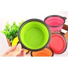Collapsible Food Bowl In 2020 Silicone Pet Bowl Pet Bowls