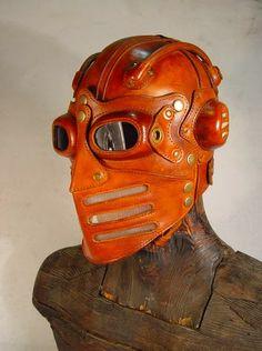 bob_basset: Streamline Moto Mask. Art leather.