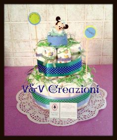 Diaper Cake:These are all of my creations. Creations I own and I made by myself! All of these images are mine, and are protected by copyright! Please don't take it without my approvation ♥ Thanks!