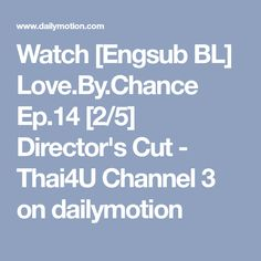 love by chance ep 14 eng sub