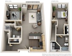 Pool House Designs, Sims 4 House Design, 3d Home Design, Home Room Design, Home Design Plans, Sims House Plans, House Layout Plans, Small House Plans, House Layouts