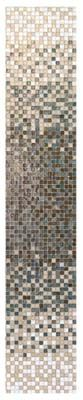 Gorgeous recycled glass tile in graduate blend