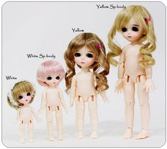 https://flic.kr/p/6wb5tQ | Lati yellow & white dolls | Lati yellow & white doll comparisons from Lati.com
