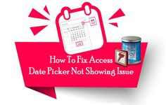 Catch complete information on MS Access date picker and how to insert date picker in Access. Also get best fixes to resolve Access Date Picker Not Showing issue. Blank Form, The Ok, Time To Move On, Get Well, When Someone, Microsoft, Ms, Dating