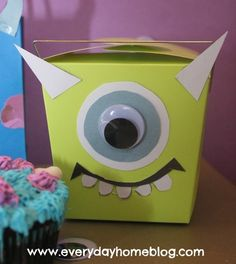 Monsters Inc Halloween Party Bags-from The Everyday Home