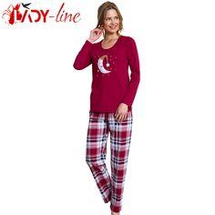 Poze Pijamale Vienetta Secret, Bumbac 100%, 'Sweet Dreams'