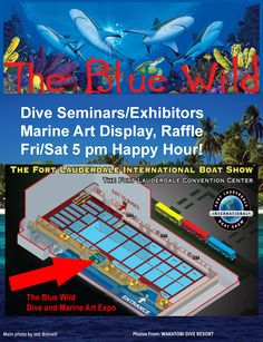 North Beach Art Gallery participates in The Blue Wild Art Exhibition at the Fort Lauderdale International Boat Show October 25th - 29th
