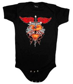 Bon Jovi Baby Onesie Infant Bodysuit Romper!! I LOVE it!!!!