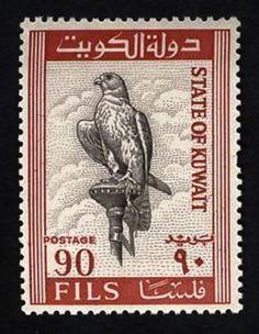 Kuwait 1965 - Halcón