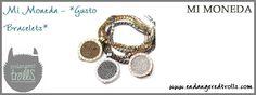Mi Moneda Gusto Bracelet and Coins