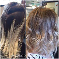 Balayage hair painting on lob. Balayage in Denver, Balayage specialist in Denver. #Balayage #hairPainting #balayageSpecialist #lob #balayagePainting #denver #hairsalondenver #balayageDenver #denverbalayage #modernsalon #btcpics #americansalon #hair...