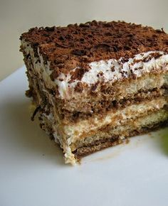 I am on the quest to find the best Tiramisu recipe. On our trip to Italy, we had tiramisu several times. The kids fell in love with the dessert! (And they don't like coffee). Tiramisu is a… Food Cakes, Cupcake Cakes, Cupcakes, Just Desserts, Delicious Desserts, Yummy Food, Holiday Desserts, Dessert Healthy, Fruit Dessert