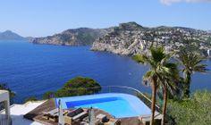 Villa La Mola - Blick zum Meer