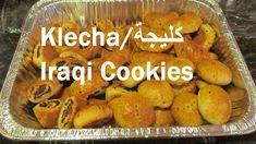 Klecha/ Iraqi Christmas, Easter and Eid Cookies/الكليجة العراقية/ Recipe Arabic Dessert, Arabic Sweets, Arabic Food, Iraqi Cuisine, Middle Eastern Desserts, Ancient Recipes, Easter Cookies, Easy Cookie Recipes, Christmas Goodies