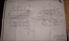 Copy of original ford #cosworth #blueprint for dfv formula 1 #engine lotus,  View more on the LINK: 	http://www.zeppy.io/product/gb/2/391371852661/