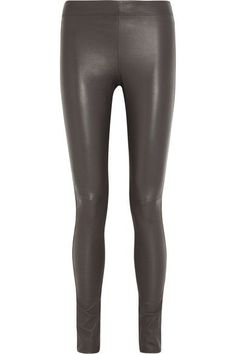 JOSEPH Stretch-leather leggings. #joseph #cloth #pants