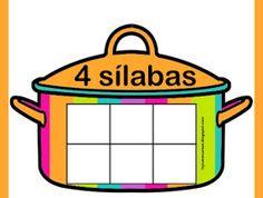 RECURSOS DE EDUCACIÓN INFANTIL: ¡ A COCINAR...! Speech Language Therapy, Speech And Language, Syllable, Ideas Para, Worksheets, Math, School, File Folders, Valencia
