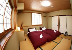 Amazing Japanese Interior Design Ideas: Outstanding Japanese Interior Design For Bedroom With Cozy Beds ~ workdon.com Architecture Inspiration