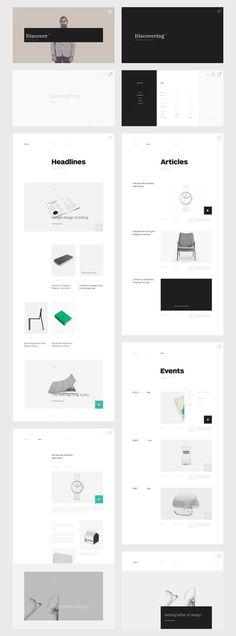 #web #webdesign #design #layout #grid #blog