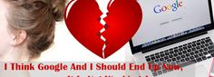 I Think #Google And I Should End Up Now, It Is Not Working Anymore! Seo News, Portal, Relationship, Google, Relationships
