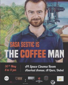 Tonight at @alserkalavenue come to share the passion & be inspired by the World Barista Champion @sasasestic - The Coffee Man.  Tickets are available in the door for 30 AED.  Great coffee will be available! Your all welcome!  #Specialtycoffee #coffee #coffeefilm #coffeelover #coffeeaddicted #dubaicoffee #aeropress #coffeelife #espresso #baristalife #barista #thirdwavecoffee http://ift.tt/1Vbg53z