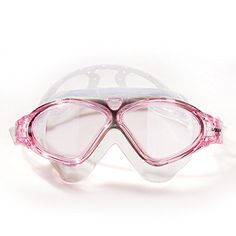 Comfortable Swimming Goggles Big Box Wide View of Men and Women Antifog Goggles pink * Want to know more, click on the image.Note:It is affiliate link to Amazon. #65likes