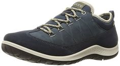 ECCO Womens Aspina Low GoreTexW Hiking Shoe MarineMarine 39 EU885 M US -- Read more  at the image link.