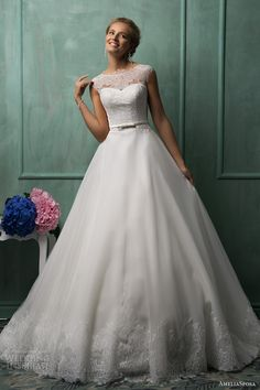 AmeliaSposa 2014 Wedding Dresses   Wedding Inspirasi - this is my absolute favorite I have ever seen