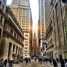 Wall st vibes by @scottlipps #nyc