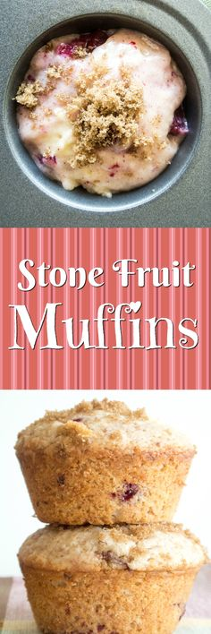 Stone Fruit Muffins