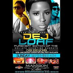#Repost @dejloaf  ATLANTA tonight I'll be @ Mansion. #laborday #SundayFunday #PartyPeople #summerfun #musicislife