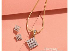 """Visit our internet site for more details on """"buy diamond pendant set"""". It is an excellent area to learn more. Diamond Earrings Indian, Diamond Jewelry, Gold Jewelry, Stylish Jewelry, Jewelry Sets, Latest Ring Designs, Gold Accessories, Gold Jewellery Design, Fashion Jewelry Necklaces"""
