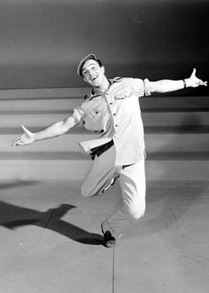 Gene Kelly. Back when men could dance and not be gay.