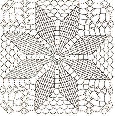 piastrella quadrata con stella di Natale