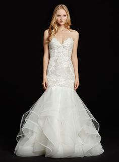 Bridal Gowns, Wedding Dresses by Hayley Paige - Style HP6603