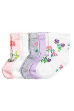 H&M - 5-pack socks £3.99